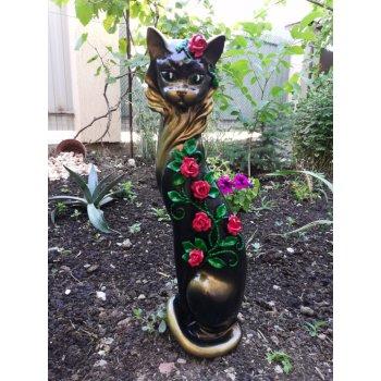 """Кошка Маркиза """"Китайские розы"""""""